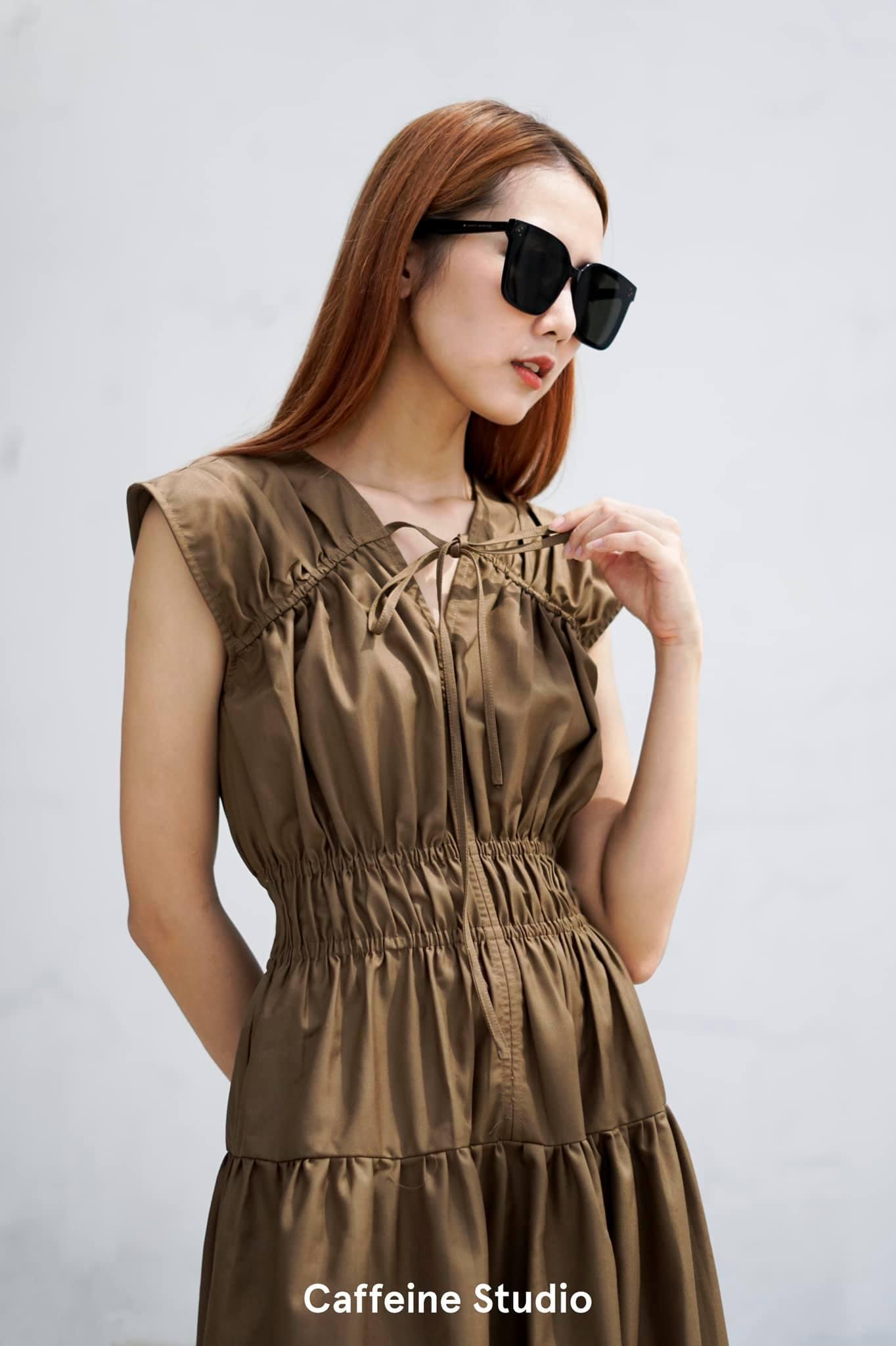 Dara Dress - Brown