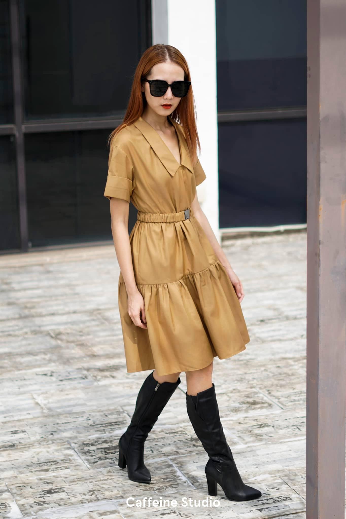 Sani Dress - Beige