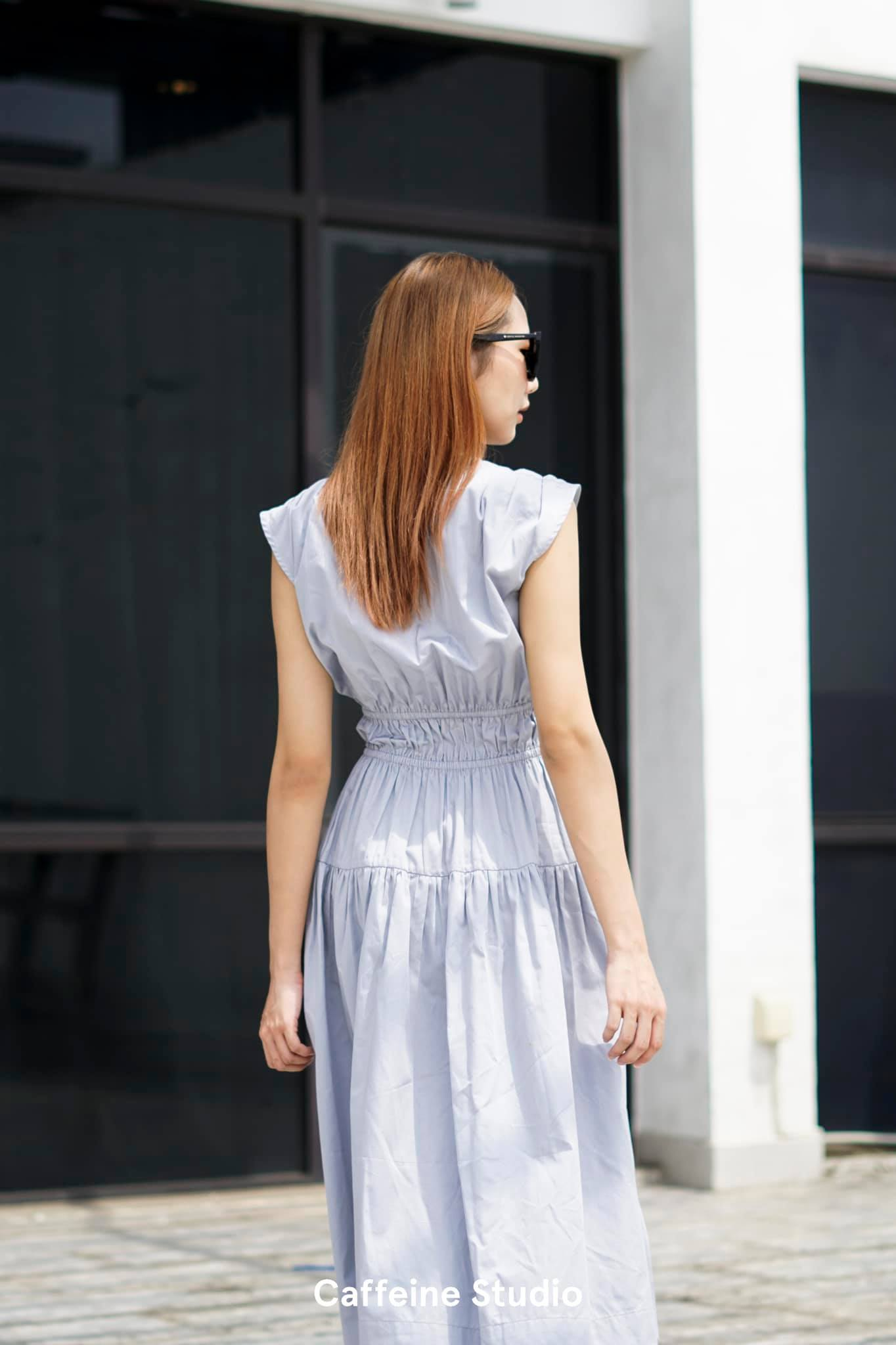 Dara Dress - Blue