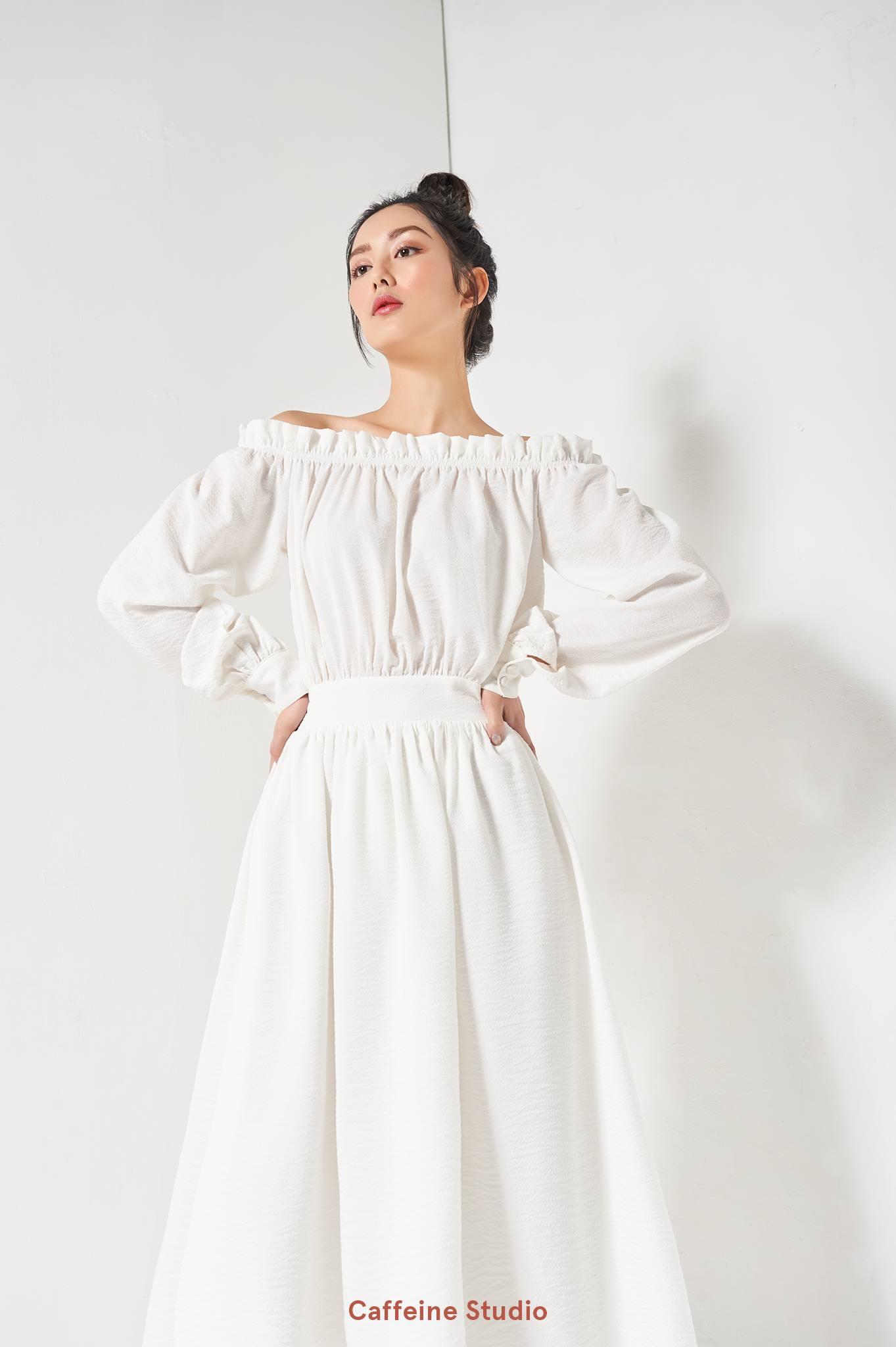 Camellia maxi dress