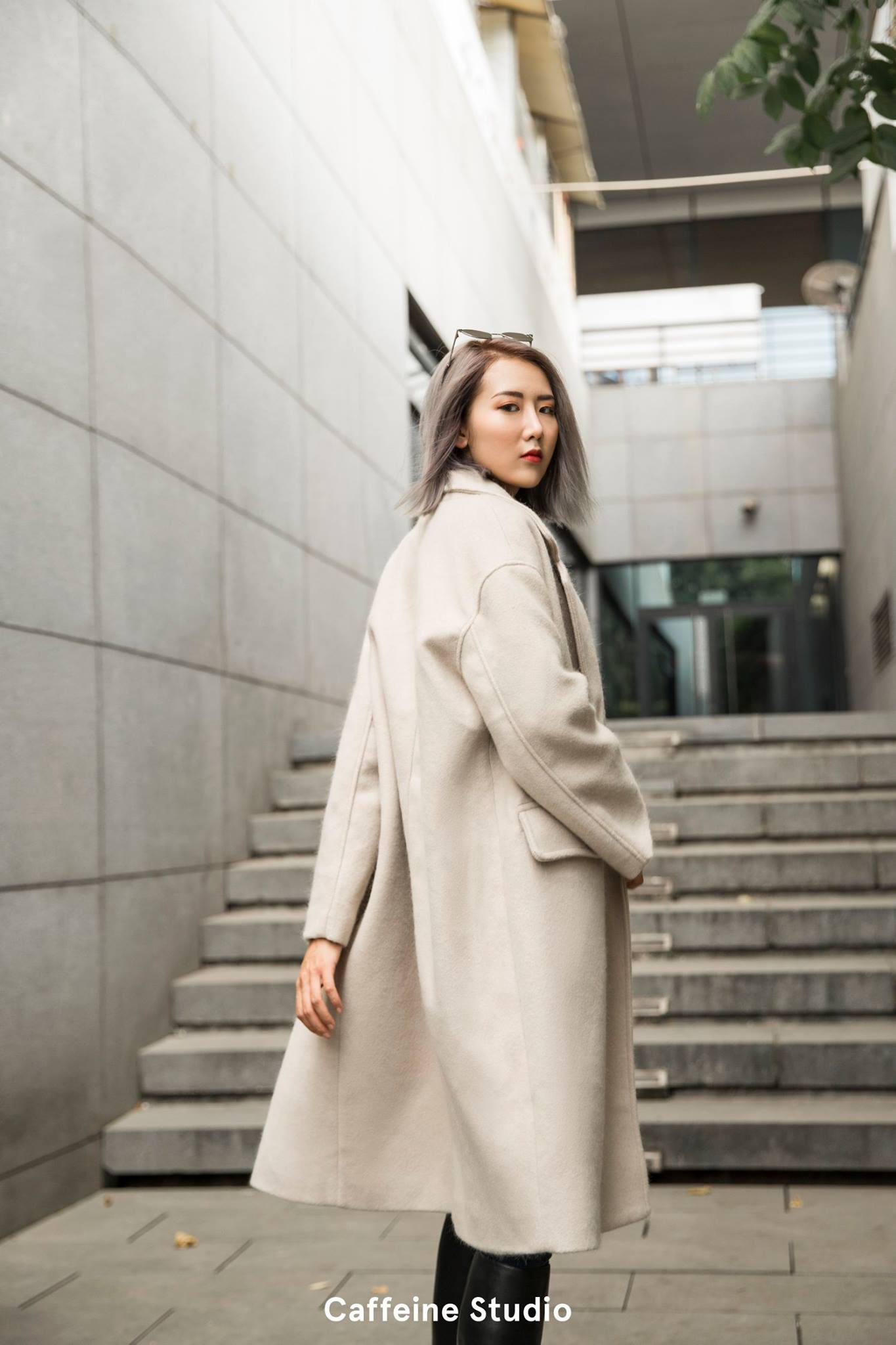 Gin oversized Coat