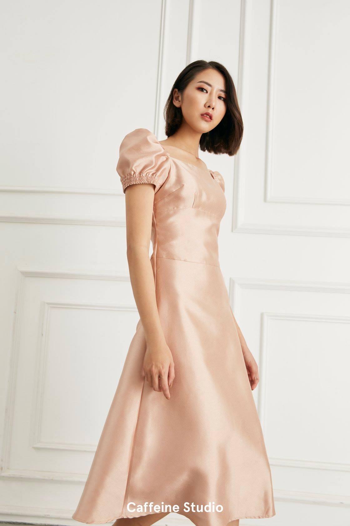 Lily tafta dress