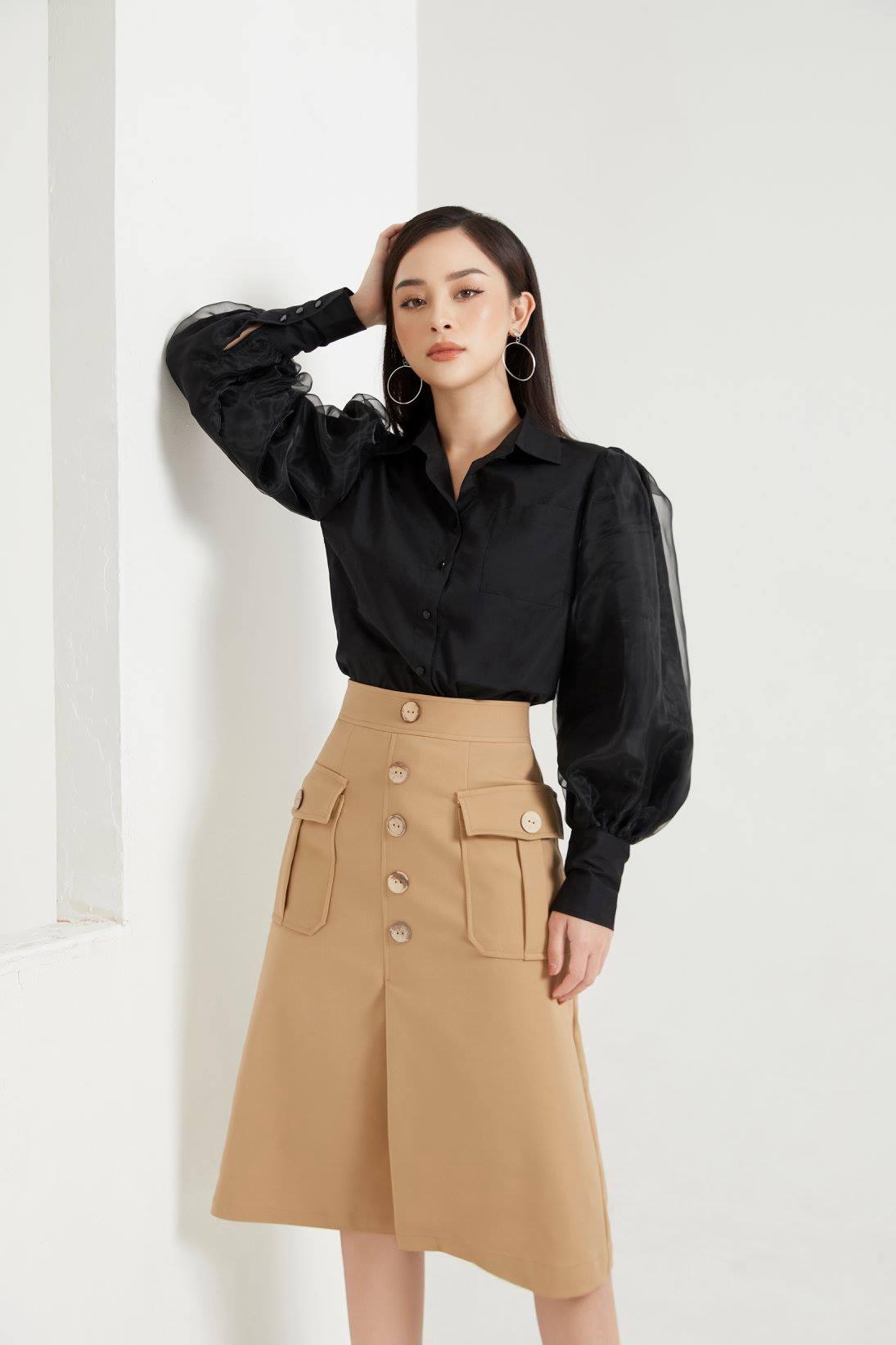 SS19 Midi Skirt