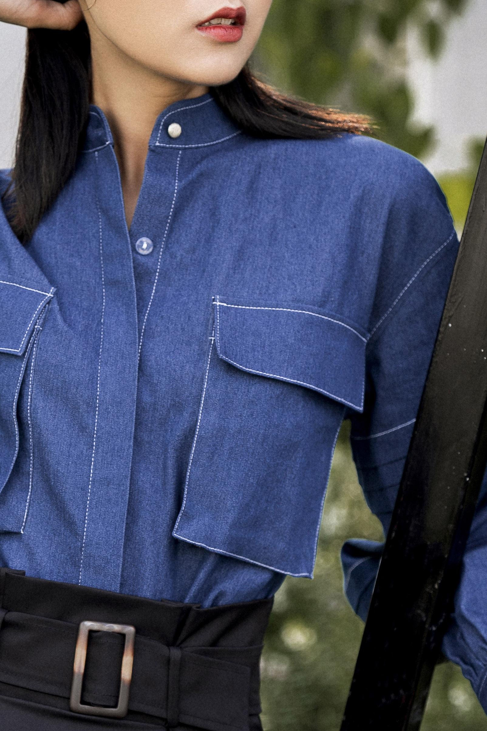 Line Shirt Denim