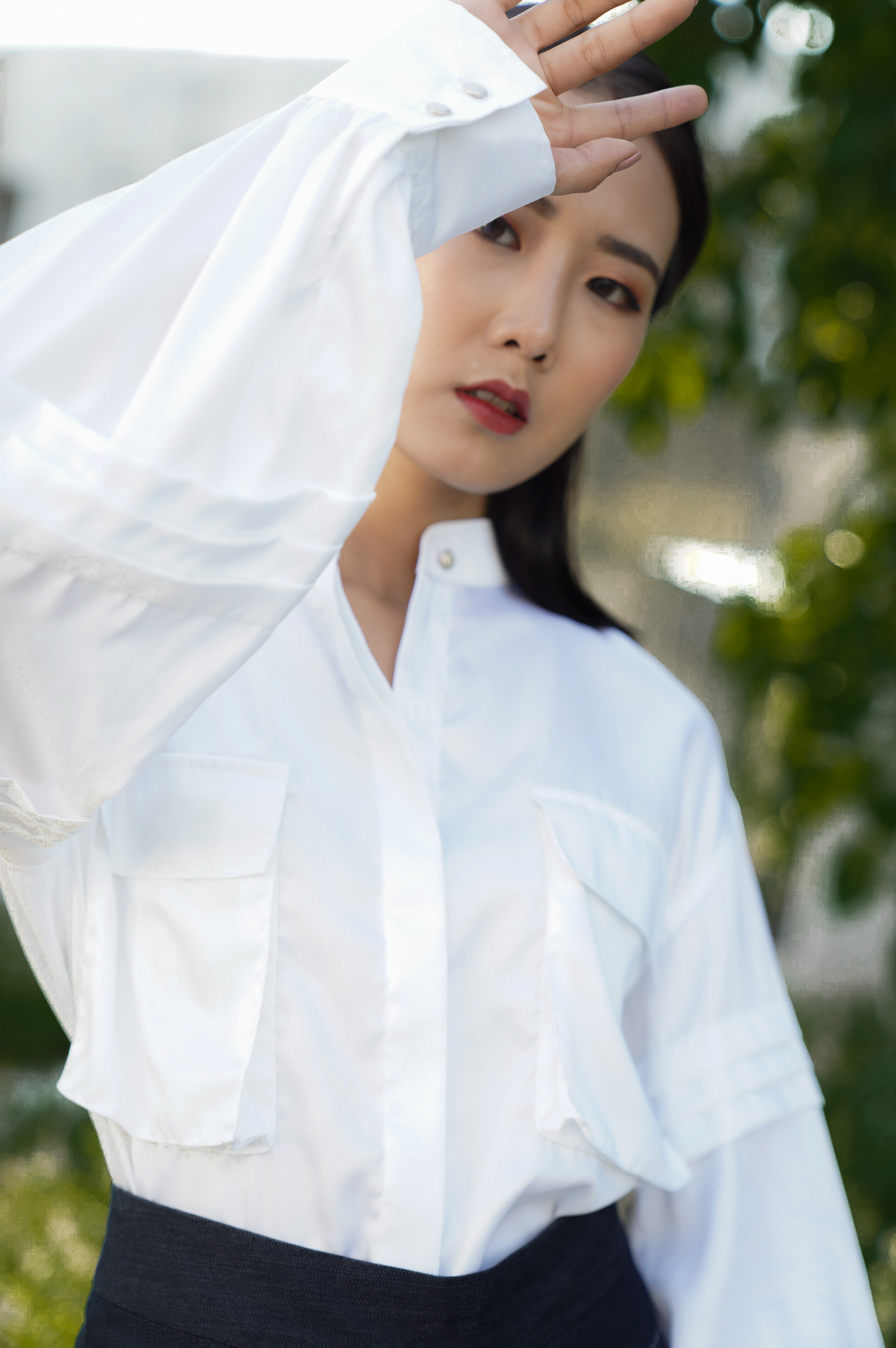 White Line Shirt