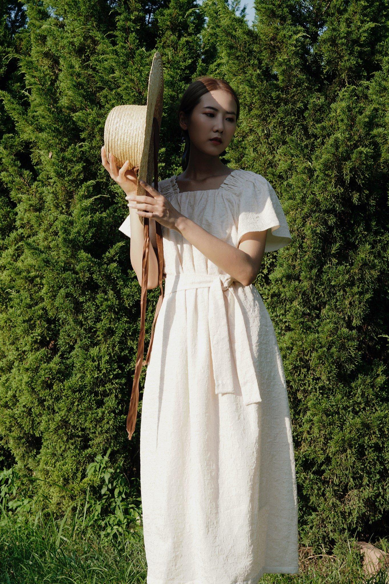 Bella dress - Cream