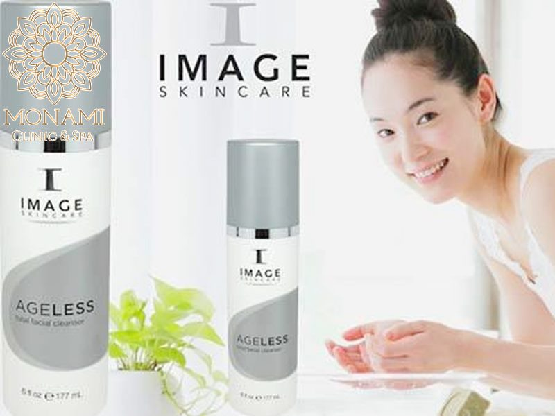 sữa rửa mặt Image Ageless Total Facial Cleanser 177ml