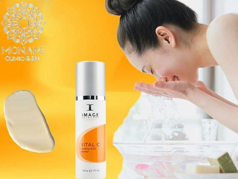 Sửa rửa mặt 3in1 dưỡng ẩm, phục hồi da - Vital C Hydrating Facial Cleanser 170g