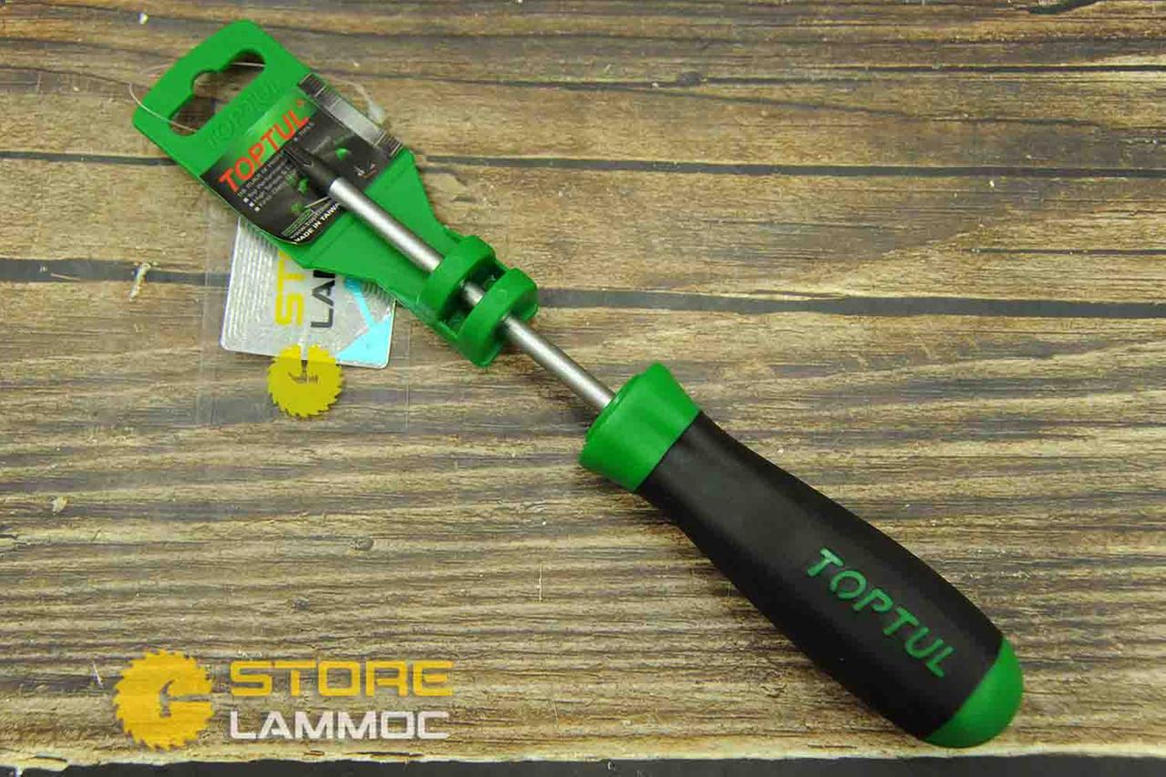 TOPTUL FEAB2510 | Tua vít sao lỗ chống trượt T25x100(L1)mm