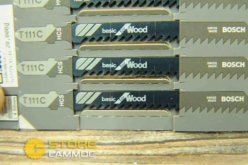 BOSCH Lưỡi cưa lọng  cho Gỗ T111C 2608630033 (bán lẻ)