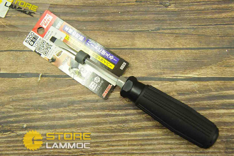Sunflag 5300 | Tua vít đóng trợ lực hạng nặng cán mềm đầu dẹp (6.0X100)