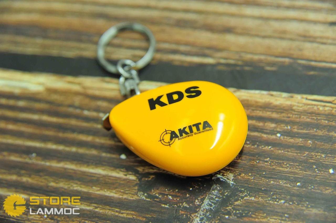 KDS RA06-20YEBP | Thước móc khóa 2m (thép-màu vàng)
