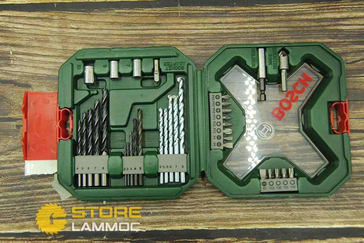 BOSCH Bộ mũi khoan và vặn vít X-Line 34 món 2607010608