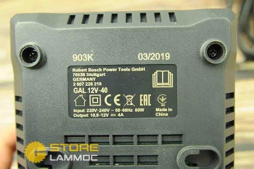 BOSCH GAL12V-40 | Sạc pin nhanh 12V