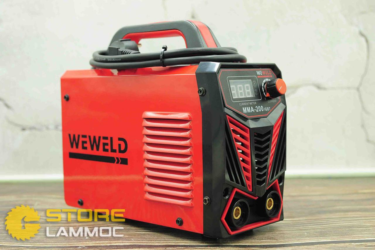 WEWELD MMA-200   Máy hàn Weweld 200
