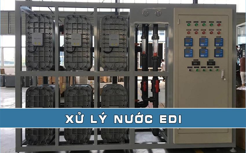 Xử lý nước EDI - Công nghệ và ứng dụng xử lý nước EDI
