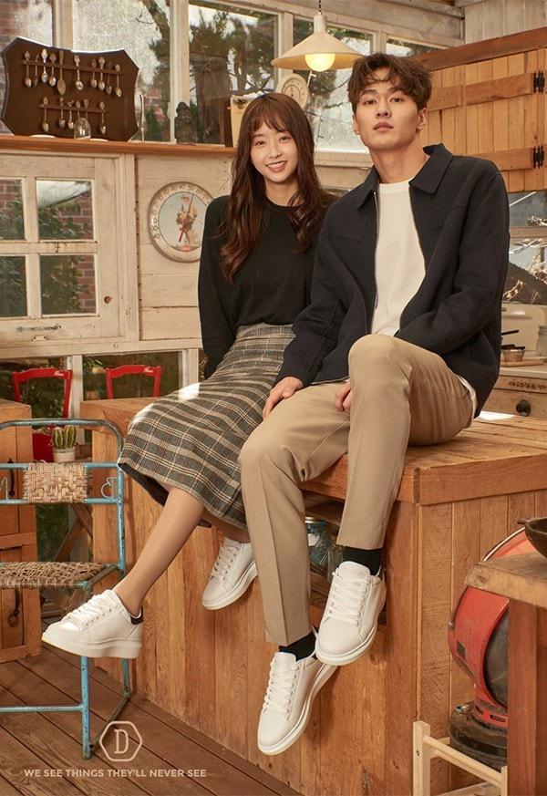 Domba H-9111-Giày thời trang chính hãng xách tay Hàn Quốc