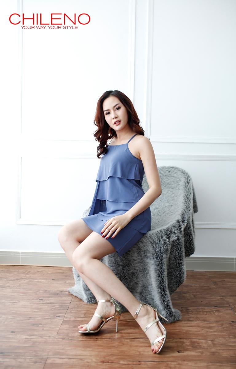 Áo Đầm Tầng Trẻ Trung AD 061706
