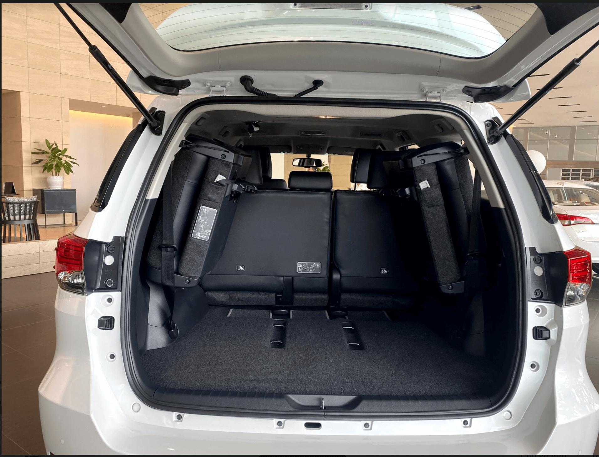 Xe Toyota Fortuner phiên bản 2020 - 8