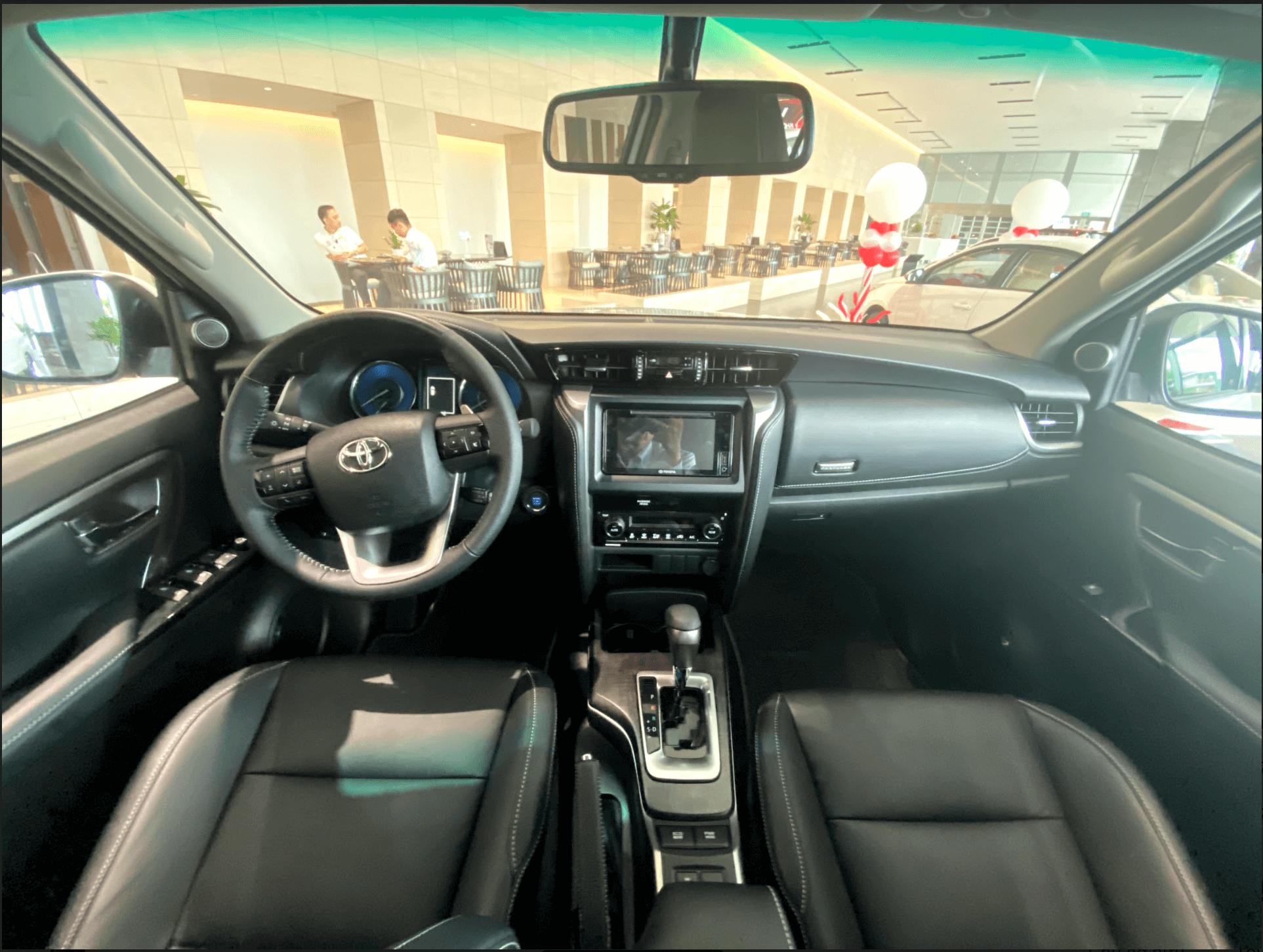 Xe Toyota Fortuner phiên bản 2020 - 5