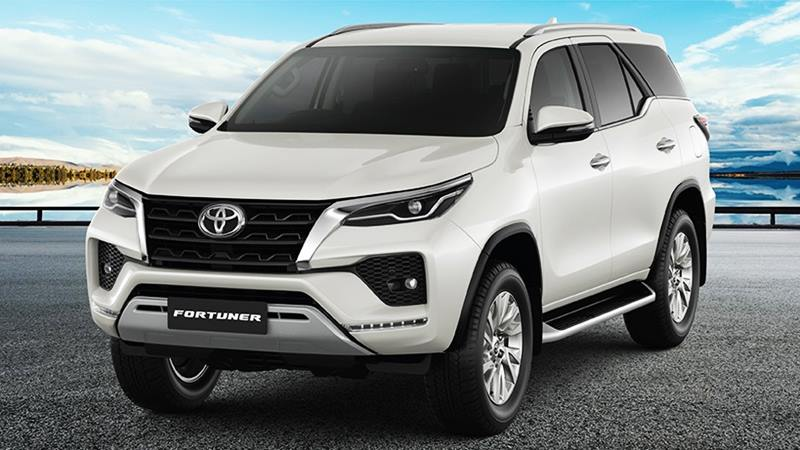 Xe Toyota Fortuner phiên bản 2020
