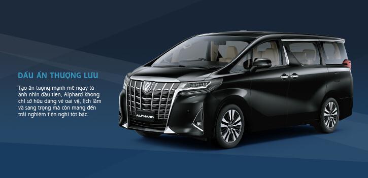Giá xe Toyota Alphard Luxury Đà Nẵng