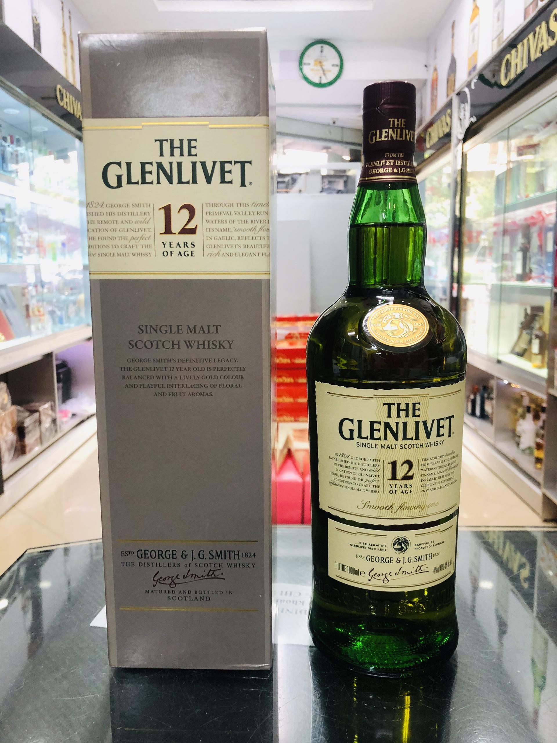Glenlivet 12 - dung tích 1 lít