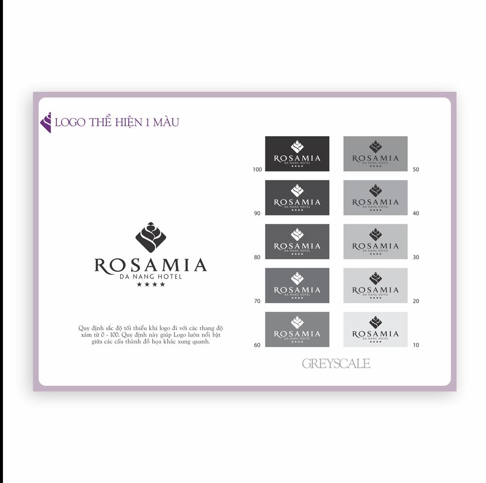 Quy chuẩn thương hiệu Rosamia