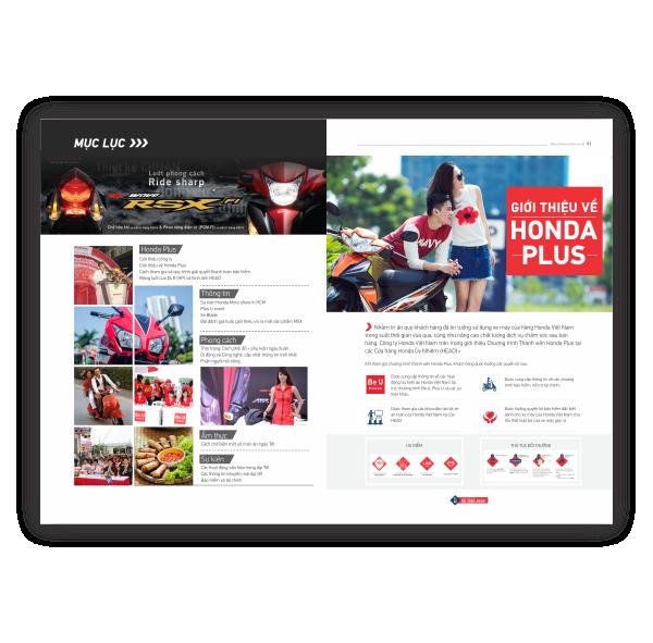 Tạp chí nội bộ Honda