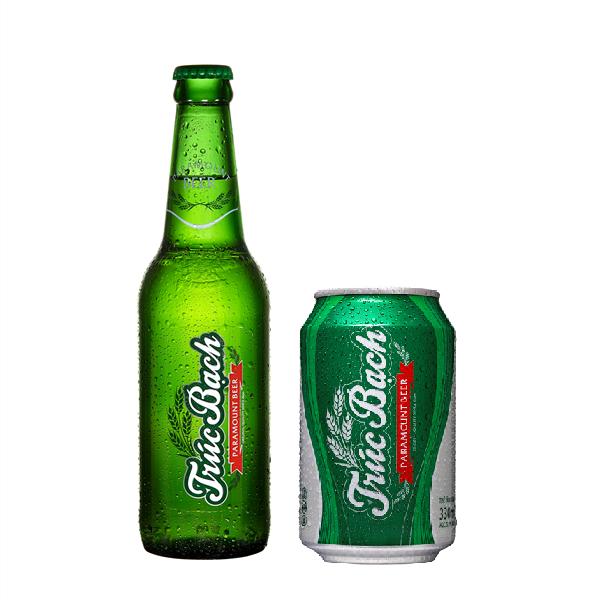 Bao bì nhãn bia Trúc Bạch