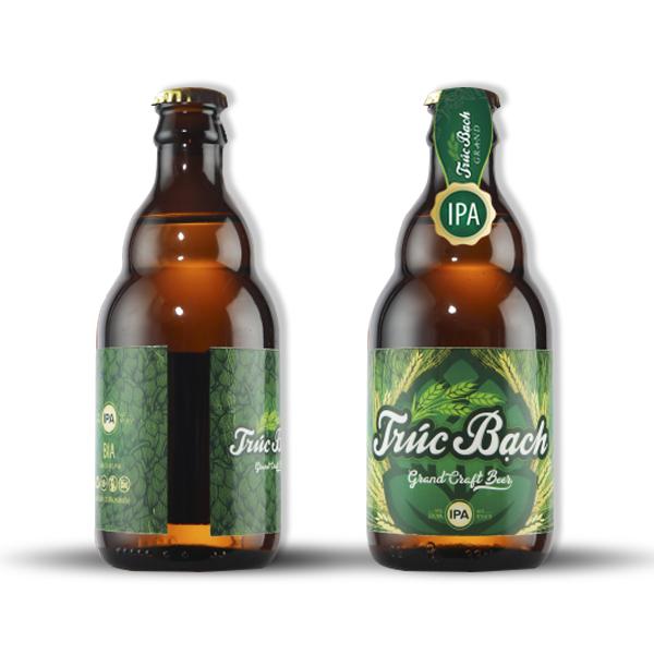Nhãn Bia Trúc Bạch Craft