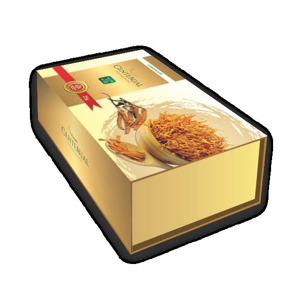 Bao bì nhãn mác Đông Trùng Hạ Thảo
