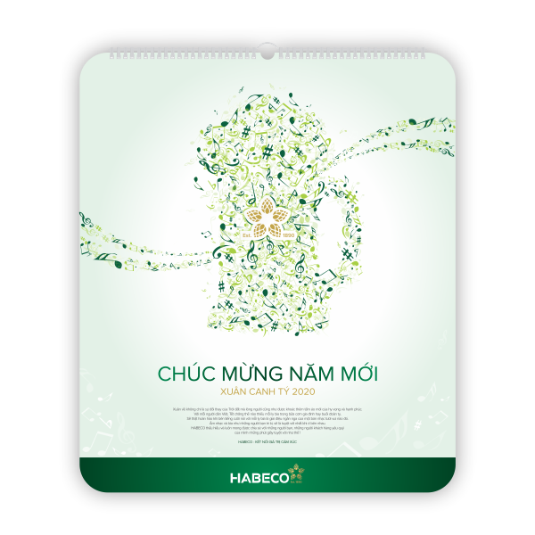 Lịch Tết 2020 - Habeco