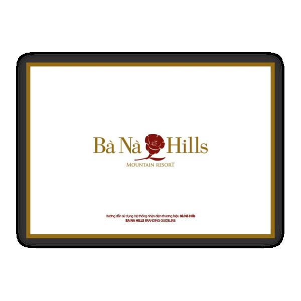 Bộ nhận diện thương hiệu Banahills