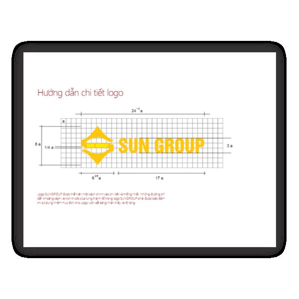 Bộ nhận diện thương hiệu Sungroup