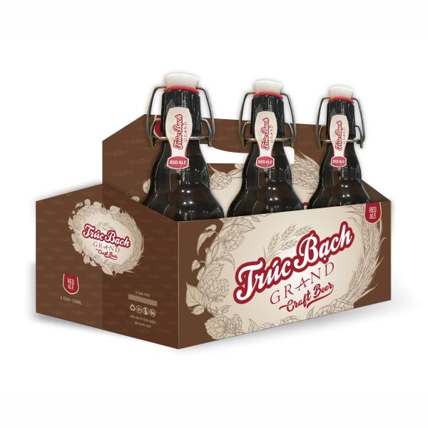 Nhãn Trúc Bạch Craft Red Ale