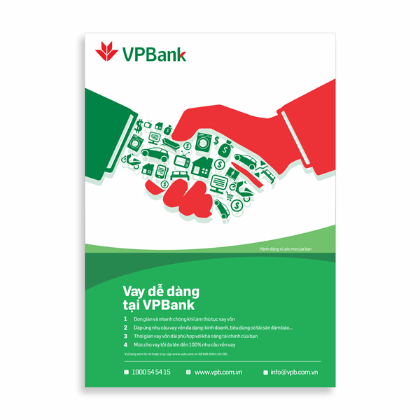 Poster Vay dễ dàng VPbank
