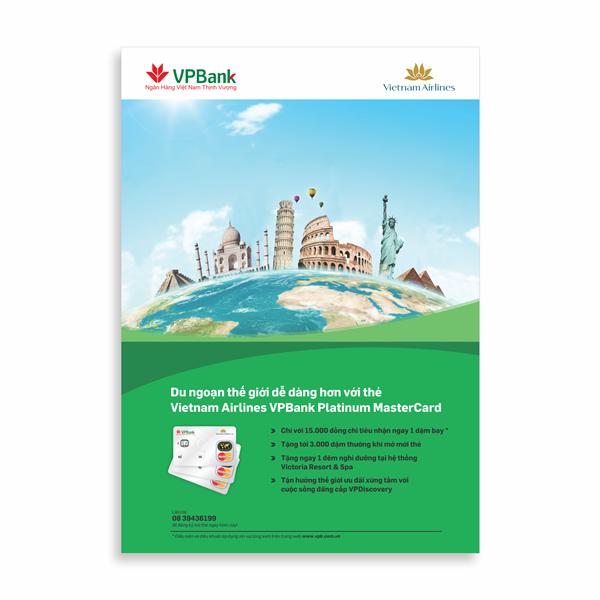 Poster Du Ngoạn thế giới VPBank