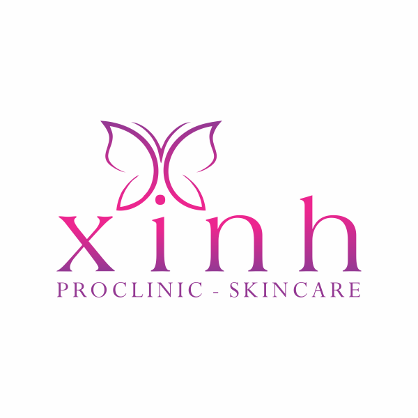 Thiết kế Logo Xinh Proclinic - skincare
