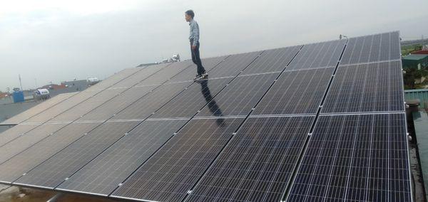 Hệ thống điện năng lượng mặt trời 10kw 3 pha