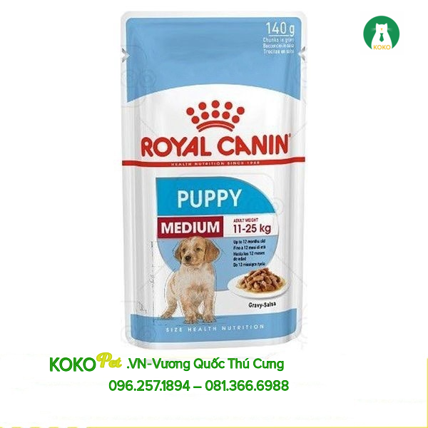 PATE ROYAL CANIN MEDIUM PUPPY 140G
