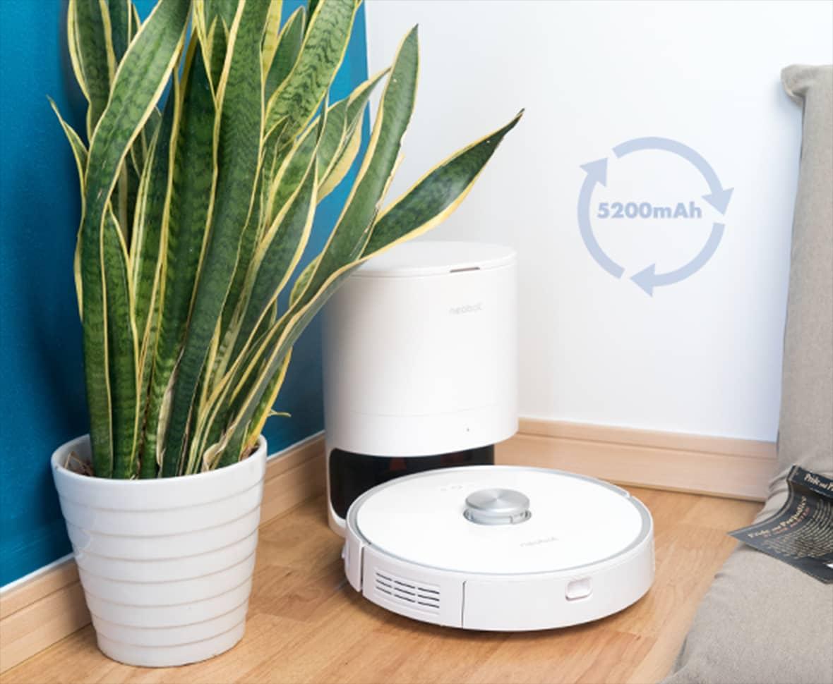 Neabot NoMo Gen1 2020 - Robot hút bụi thông minh với thùng rác tự làm sạch