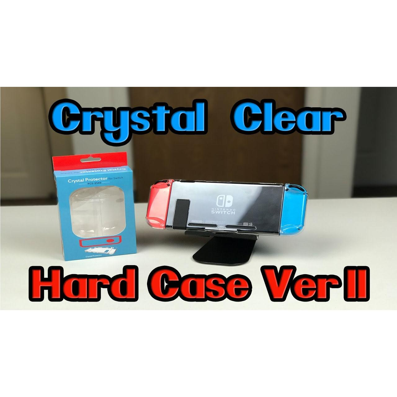 ốp trong suốt crystal case ver2 switch nintendo
