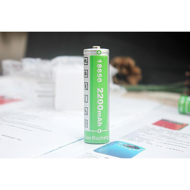 pin hhtc 2200mah 4.2 v cho máy niệm phật , đèn pin ,thuốc lá điện tử