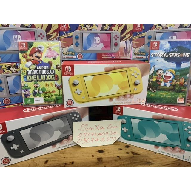 set nintendo switch kèm mario hoặc doraemon
