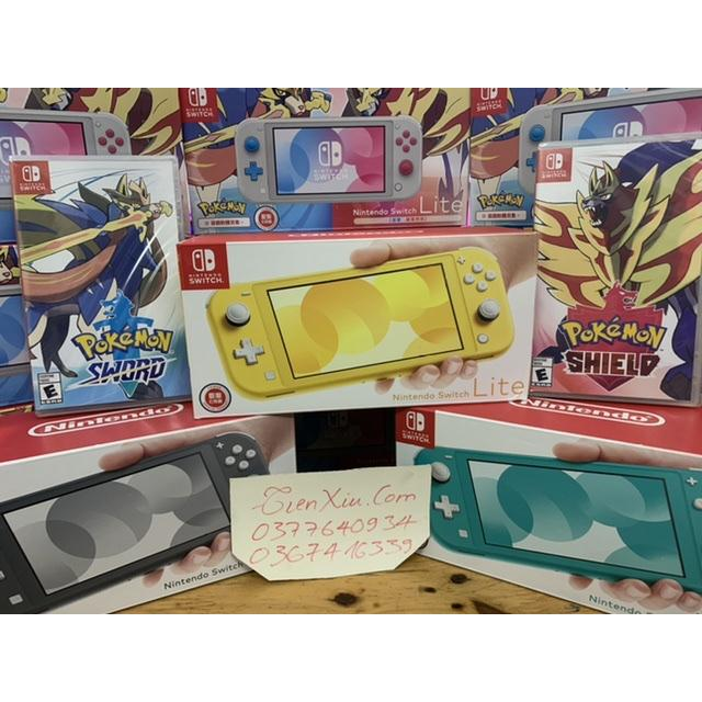 set nintendo switch lite kèm pokemon