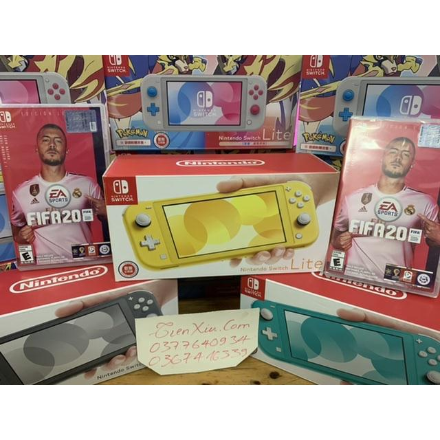 set nintendo switch lite kèm fifa 20