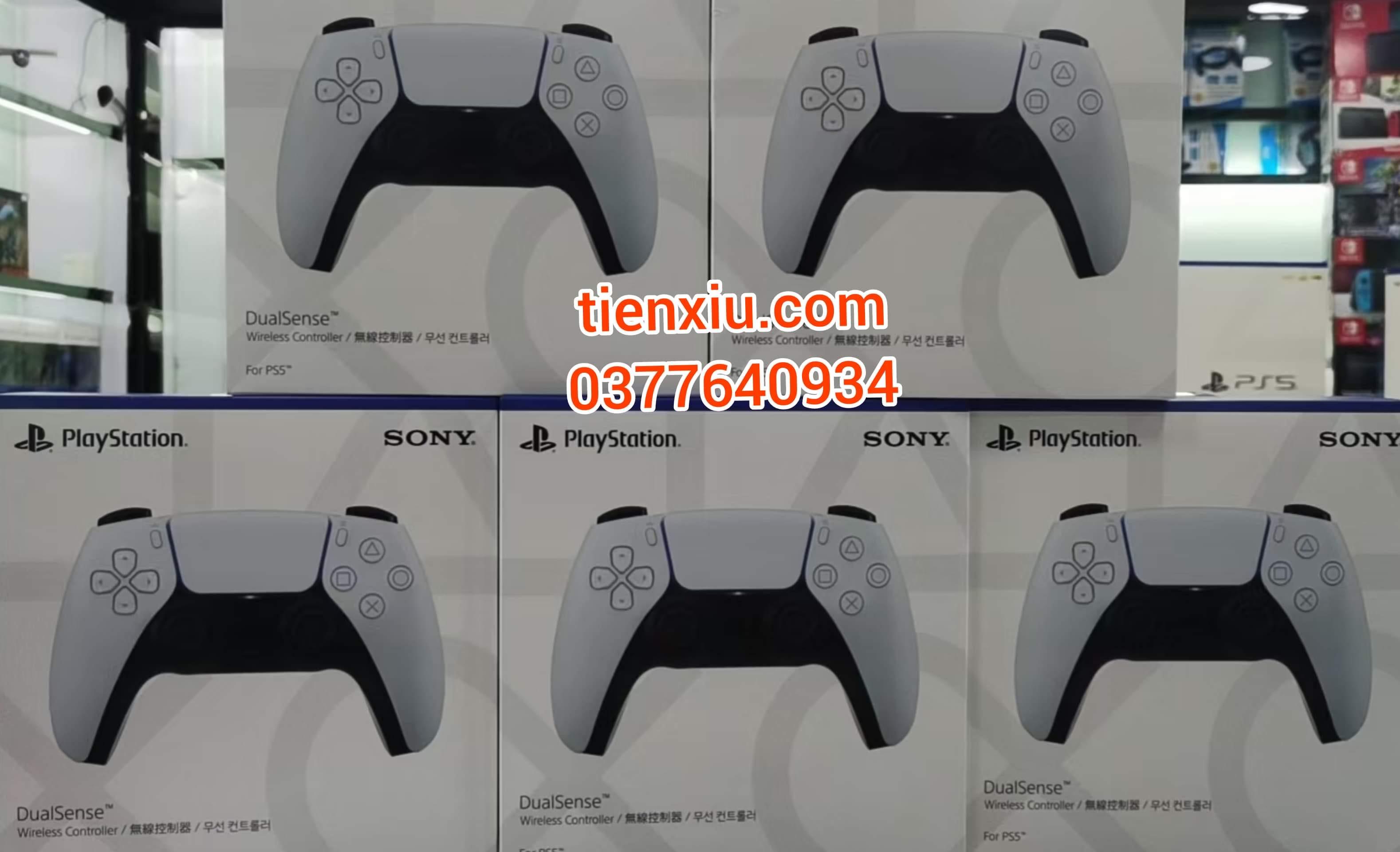 tay cầm Ps5 Sony việt nam chính hãng bảo hành 12 tháng