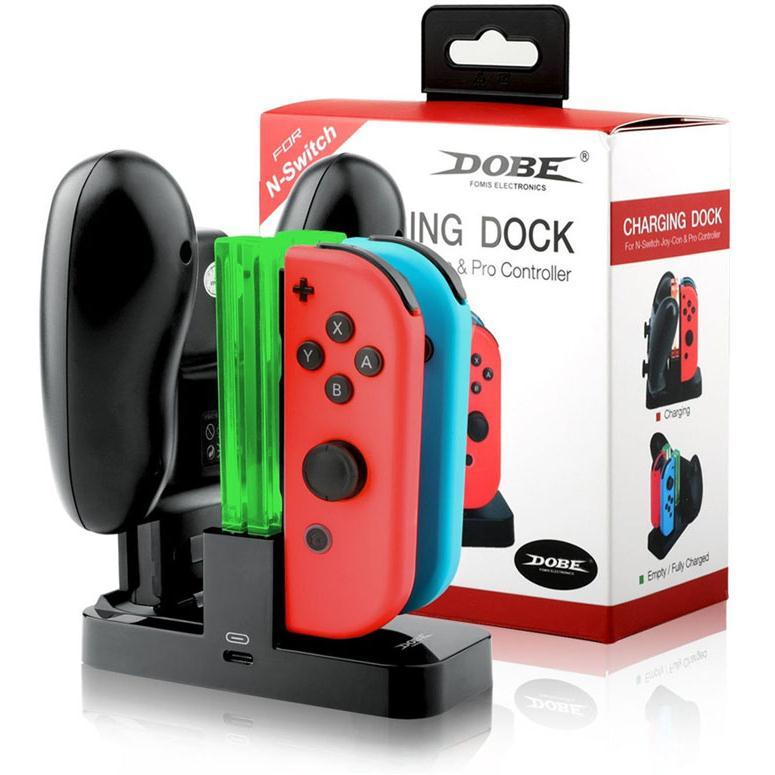 dock sạc switch dobe kiêm luôn sạc controller pro