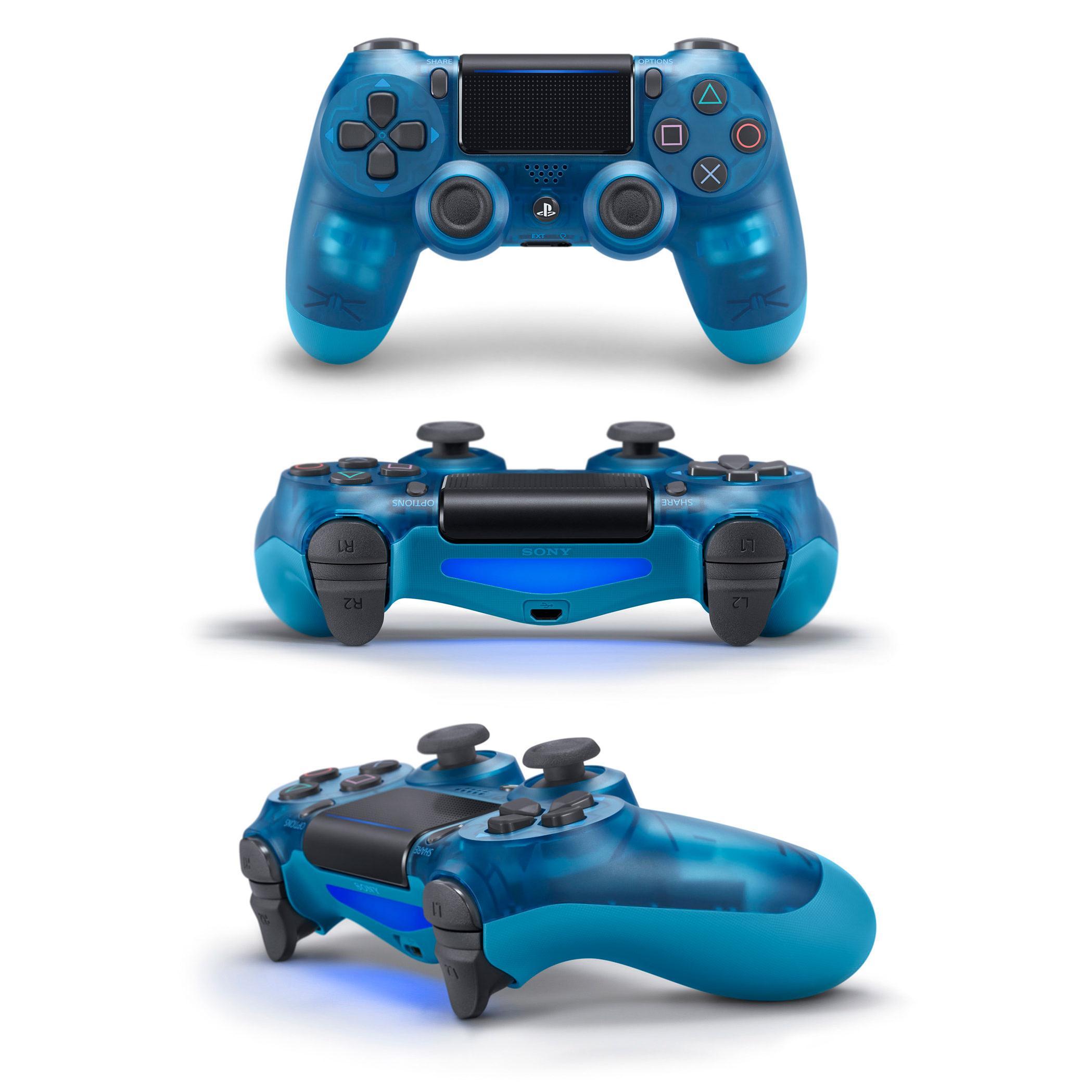 Tay Cầm PlayStation PS4 Sony Dualshock 4 (Xanh trong suốt) - Hàng Chính Hãng mới 100%
